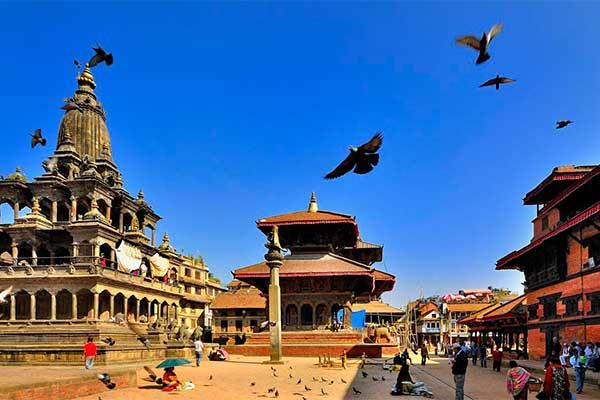 Kathmandu Patan Bhaktapur Reise