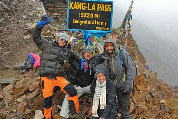 Narphu und Kanga la Pass Trek