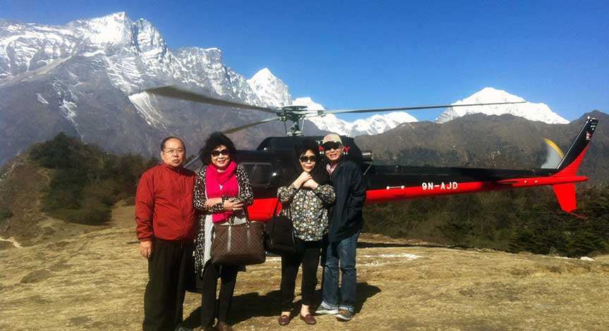 Explore the Himalayas with our Heli Tour