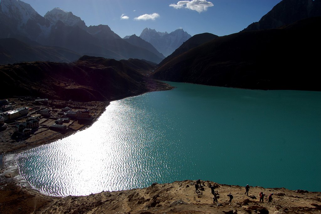 """The view from Gokyo Ri """